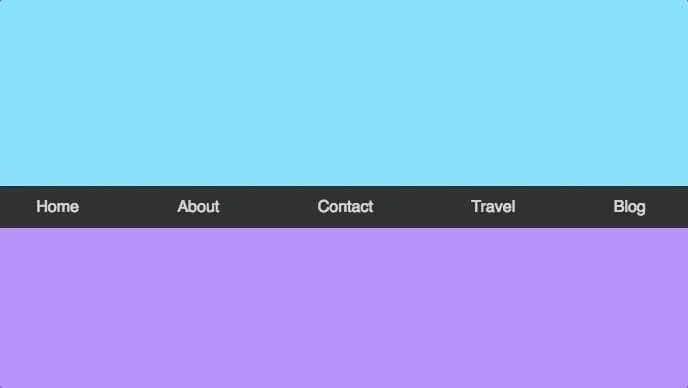 Sticky menu with ScrollMagic